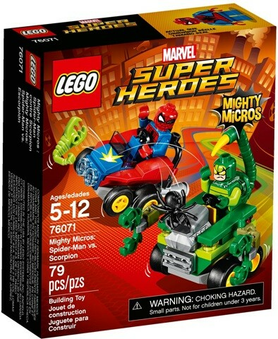 Lego Super heroes, 76071, Mighty Micros - Scorpion vs…