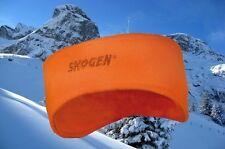 Leuchtorange Fleecestirnband Stirnband Ski Jagd Treiber