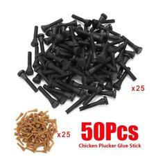 50 Chicken Plucker Picker Poultry Fingers Duck Goose Hen Heavy Duty Plucking