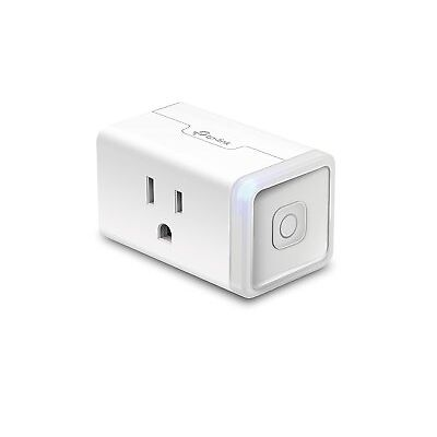 TP-Link Smart Plug Mini, Wi-Fi, Works with Alexa and Google Assistant One Socket