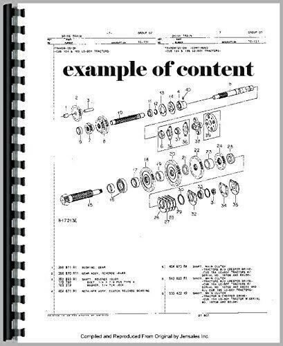 Details about  /New Holland 311 Square Baler Parts Manual Catalog