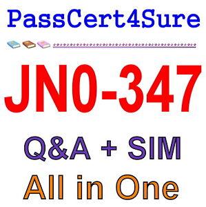 Juniper Enterprise Routing and Switching JN0-647 Exam Q/&A+SIM