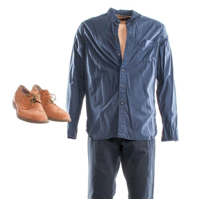 House of Cards Gary Stamper Screen Worn Sweater Shirt Pants & Shoes Ep 310