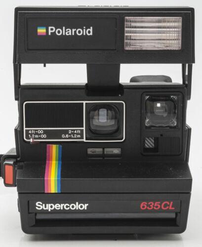 Polaroid Supercolor 635 cl 635-cl 635cl cámara inmediatamente imagen cámara Camera