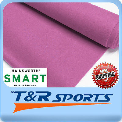 "English Hainsworth Smart Pool Table Cloth Billiards Felt Kit for 9/"" Black US"