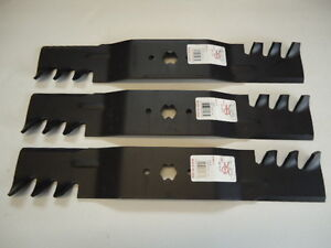 3-Mulching-Blades-For-Cub-Cadet-RZT54-54-034-742-0677-942-0677-742-0677A-942-0677A