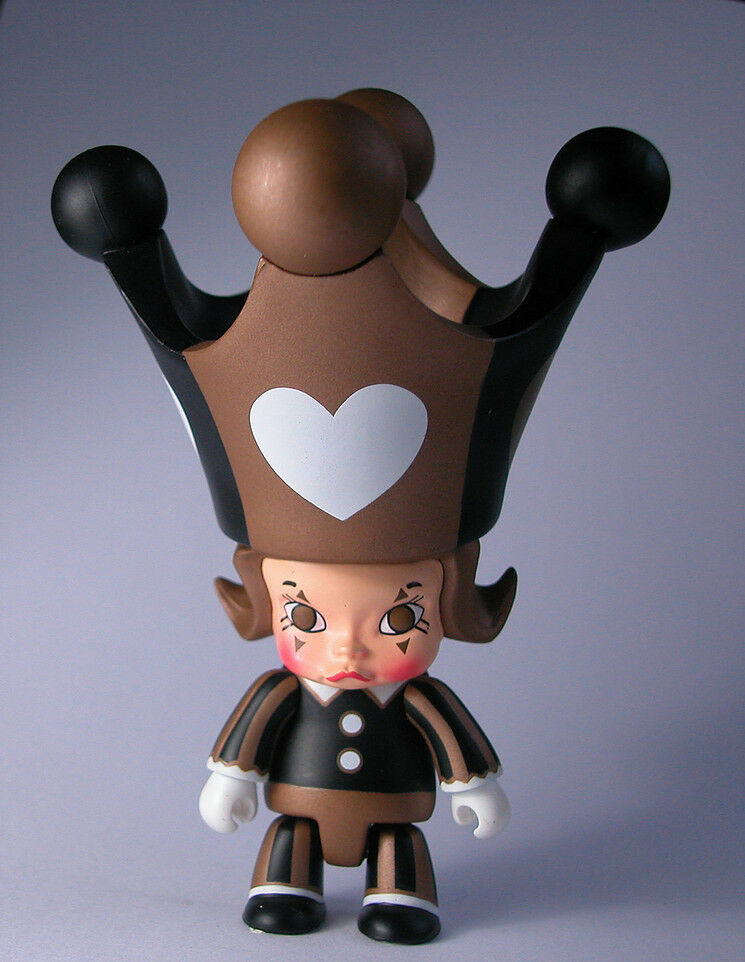 MOLLY Qee RED HEART 2.5  Trading Figure KennysWork Qee Collection 2007