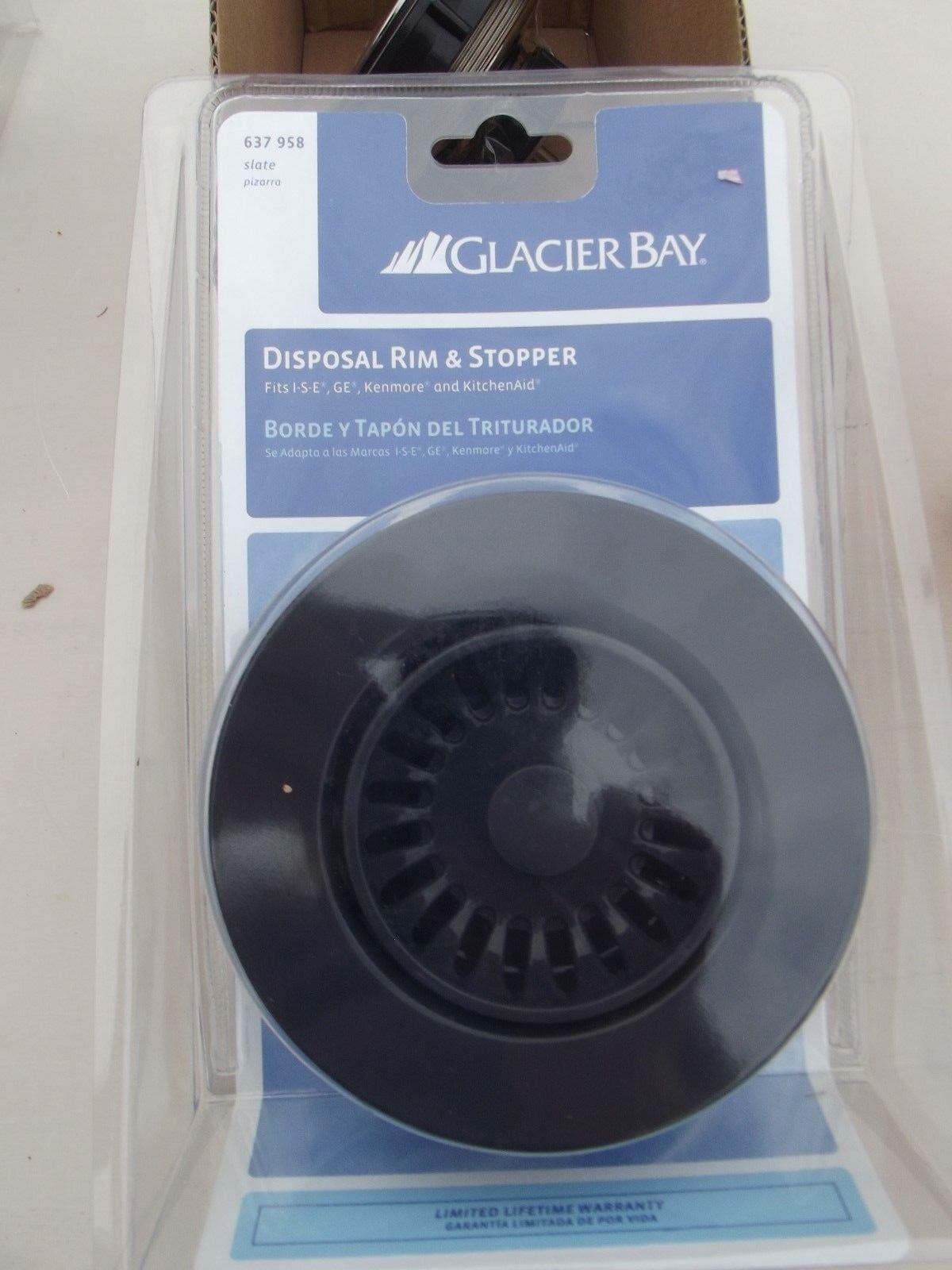 Glacier Bay Disposal Rim and Stopper in Slate 02557 | eBay