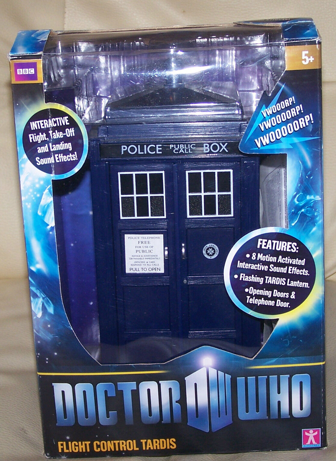 Doctor Who Flight Controlled Tardis BRAND NEW