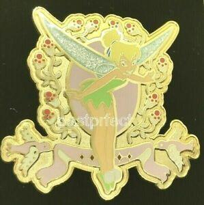 Disney Auction Le 1000 Pin Tinkerbell Birds Flowers Da W Card 20yrs Trading 2020 Ebay