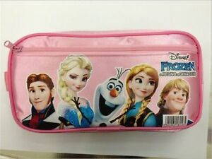 1PC-Disney-Frozen-Elsa-Anna-Multifunction-Stationery-Waterproof-Pencil-Case