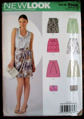 NEWLOOK Sewing Pattern no. 6969 Ladies SKIRT size 616 NEW