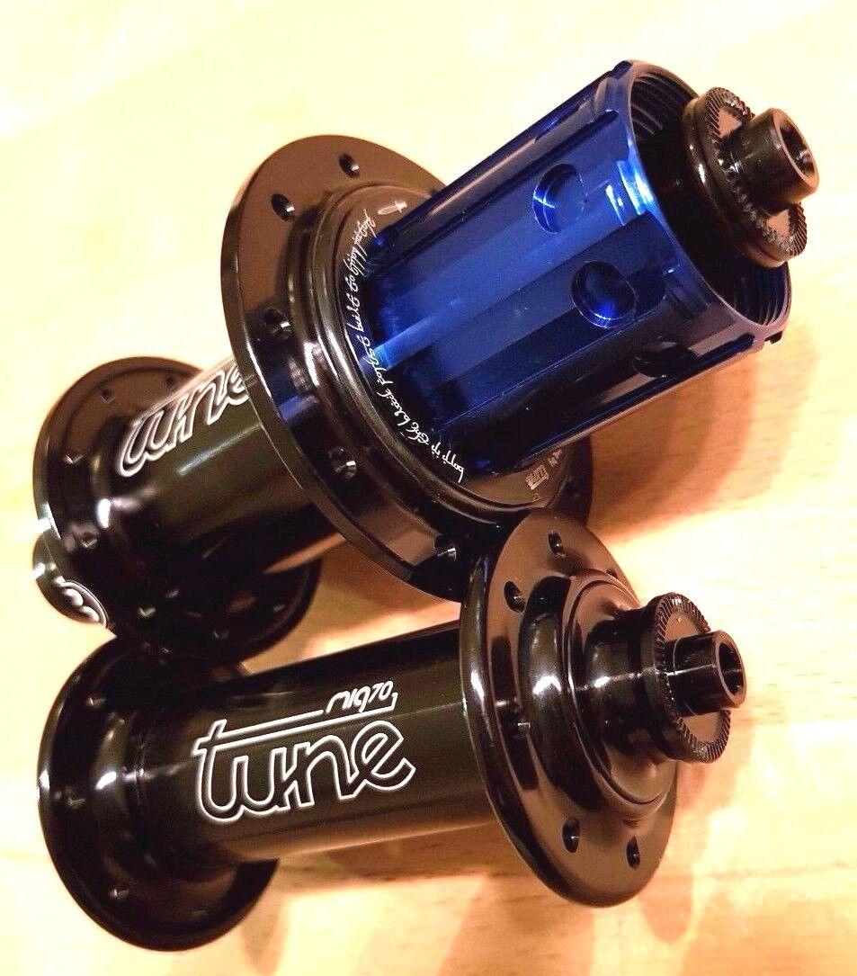 Tune Mig 70 16H Mag 170 20H hubset front rear hub 4 superlight wheelset Retro
