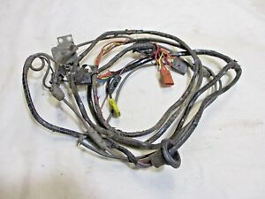 1973 Cougar Deluxe Interior Main Power Window Wiring ...