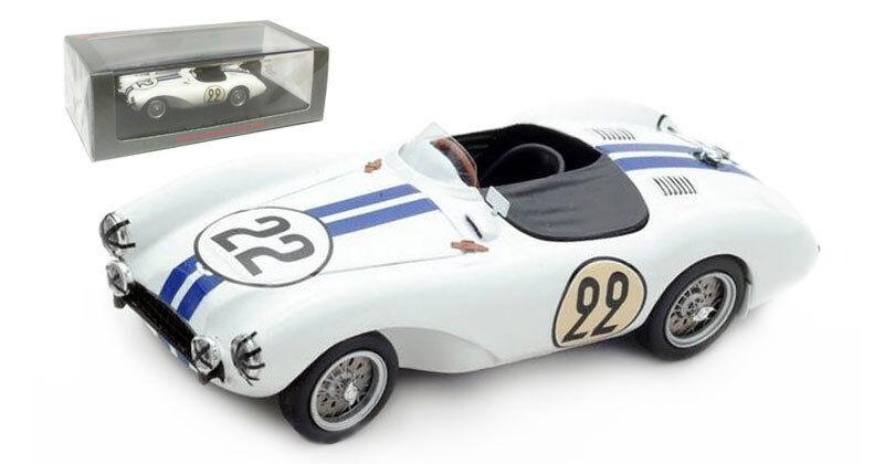SPARK S2437 Aston Martin DB3 S  22 Le Mans 1954-Shelby FRERE échelle 1 43