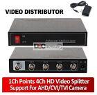 1 to 4 BNC Composite Video Splitter Distribution Amplifier CCTV Surveillance