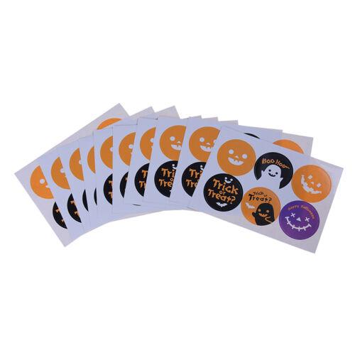 Pegatinas Decoración Hornear Embalaje Sello De Halloween colocada Pegatinas Bott Lu 60 un