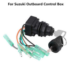 Details about Motor Ignition Key Switch ASSY Keys for Suzuki Outboard  Control Box 37110-92E01