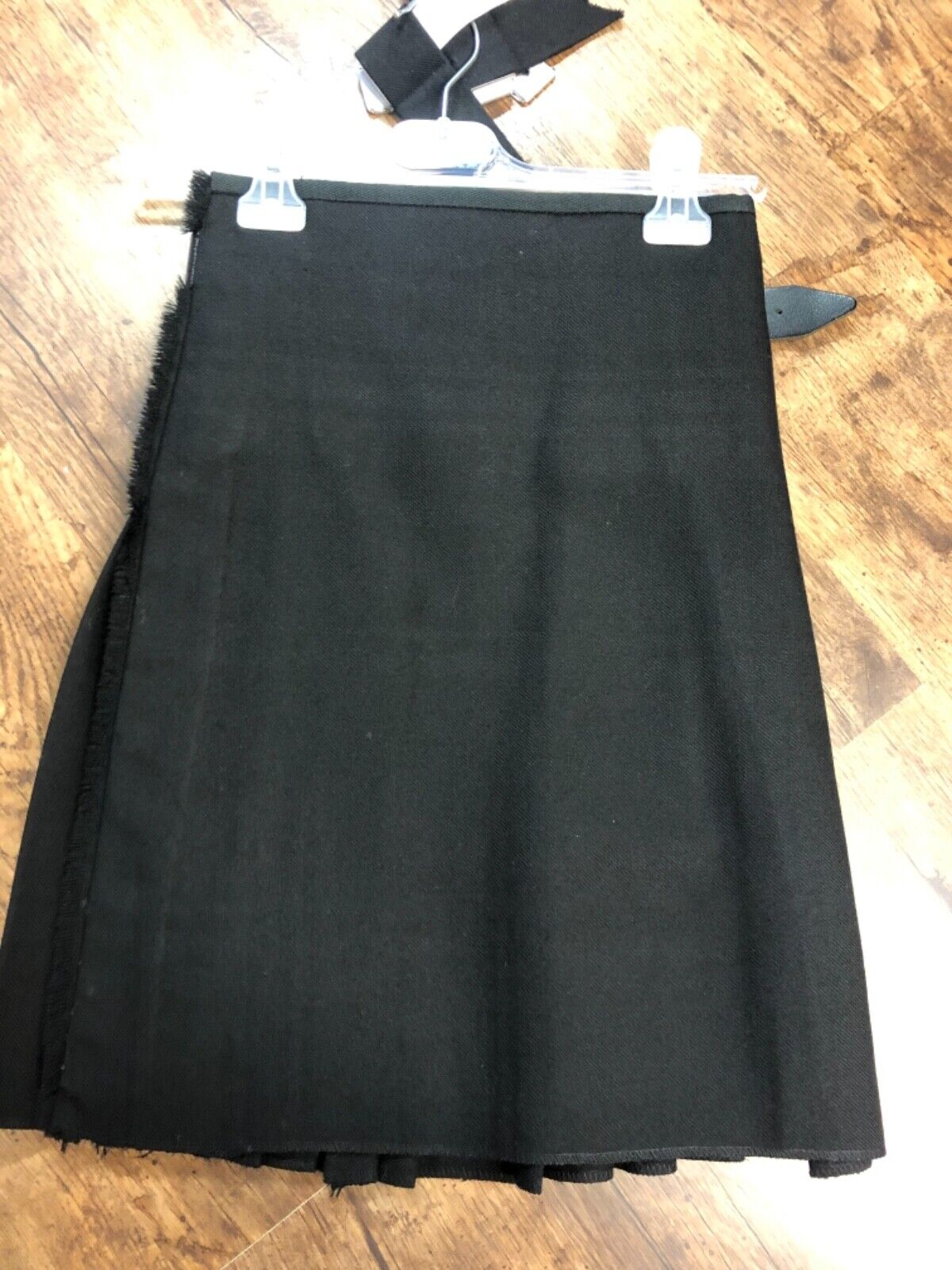 Child's ex-hire black tartan kilt - Highland Dress