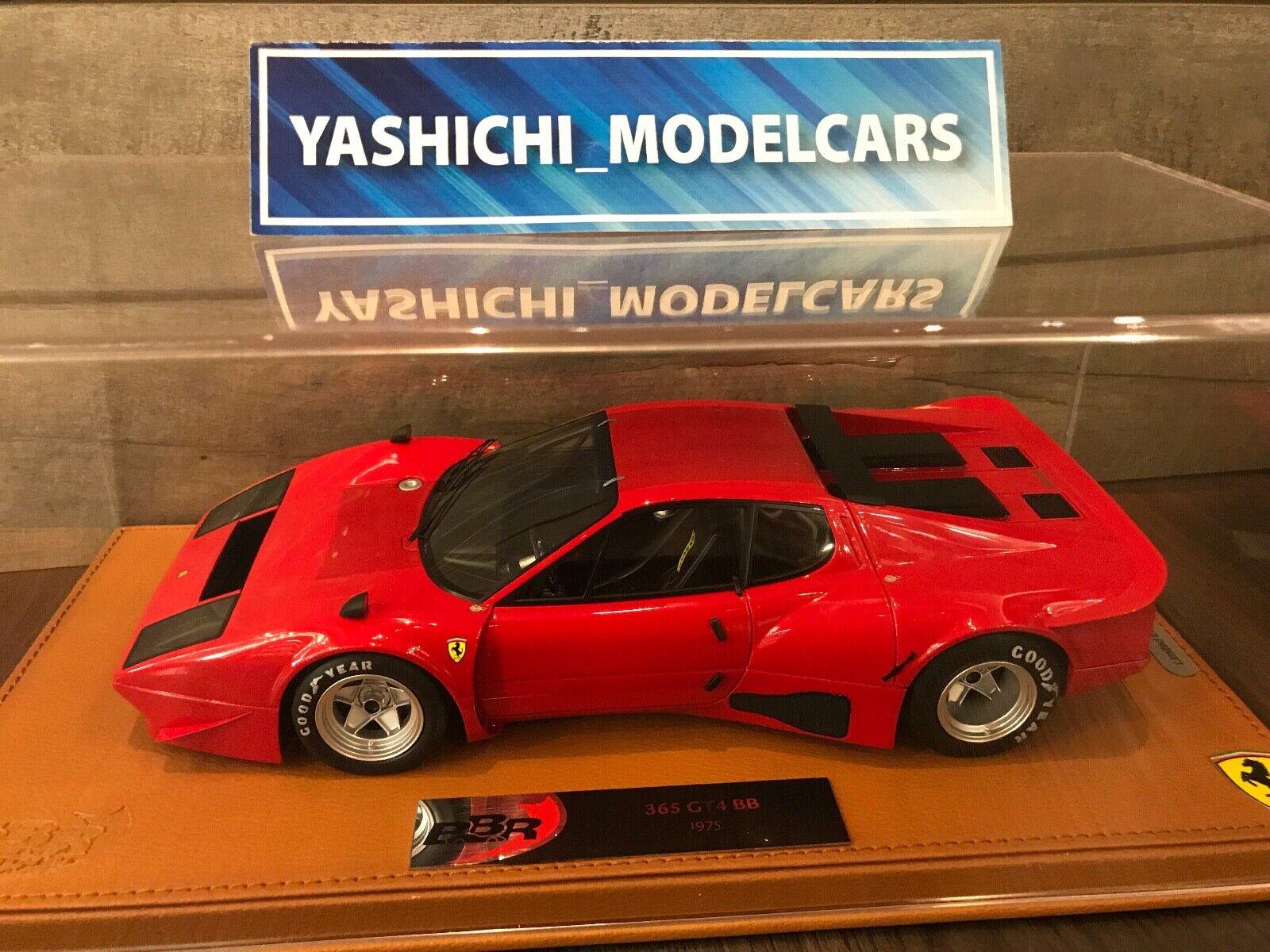 1 18 BBR Ferrari 365 GT4 BB Presentation 1975 - Resin Model Car - BBR1813BV RARE