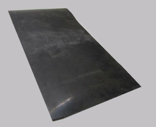 "1000 PSI 1//4/"" x 12/"" Wide x 24/"" Length Black SBR Rubber Sheets 60 Shore A"