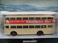1/43   Minichamps  Büssing D2U D.Decker Bus