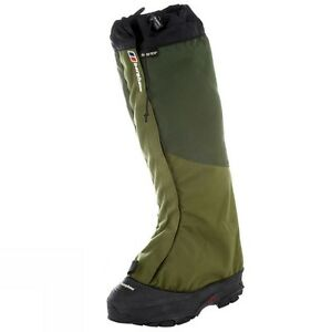 Berghaus Yeti Attak Gore-Tex polainas Braga XS UK 3-3.5 UE 35.5-36.5 US 4-4.5