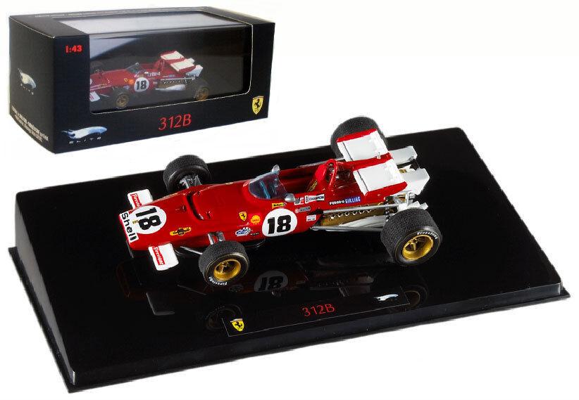 descuento online Mattel Elite N5588 Ferrari 312B GP 1970 canadiense-Jacky canadiense-Jacky canadiense-Jacky § 1 43 Escala  apresurado a ver