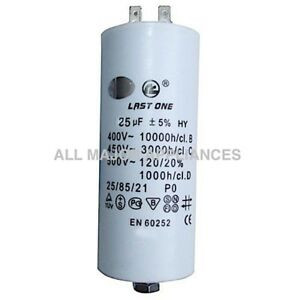 Details about RUNNING CAP / RUN CAPACITOR 25mF / 25mF / 25 MICRO-FARAD  400-500V 4 TERMINALS
