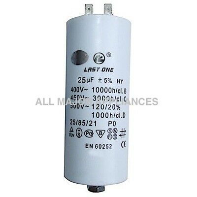 25uF Run Capacitor Last One Plastic 400//450V will suit 240V motor pump spa dryer