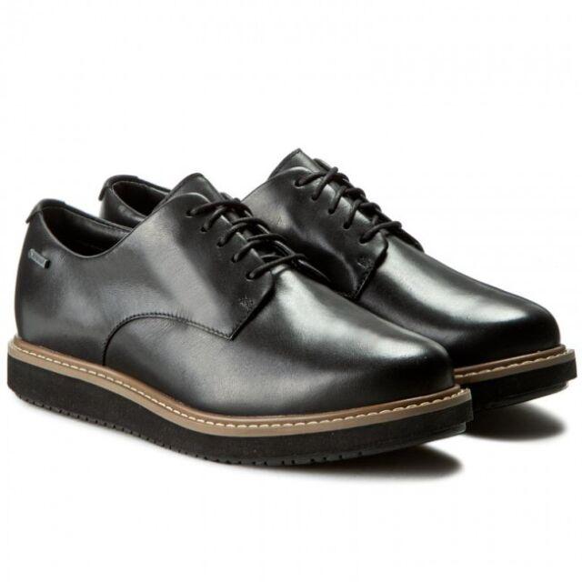 5166e0113b0 Clarks Glickdarby GTX Black Shoes UK 7 EU 41 D Fit Js21 75 SALEx