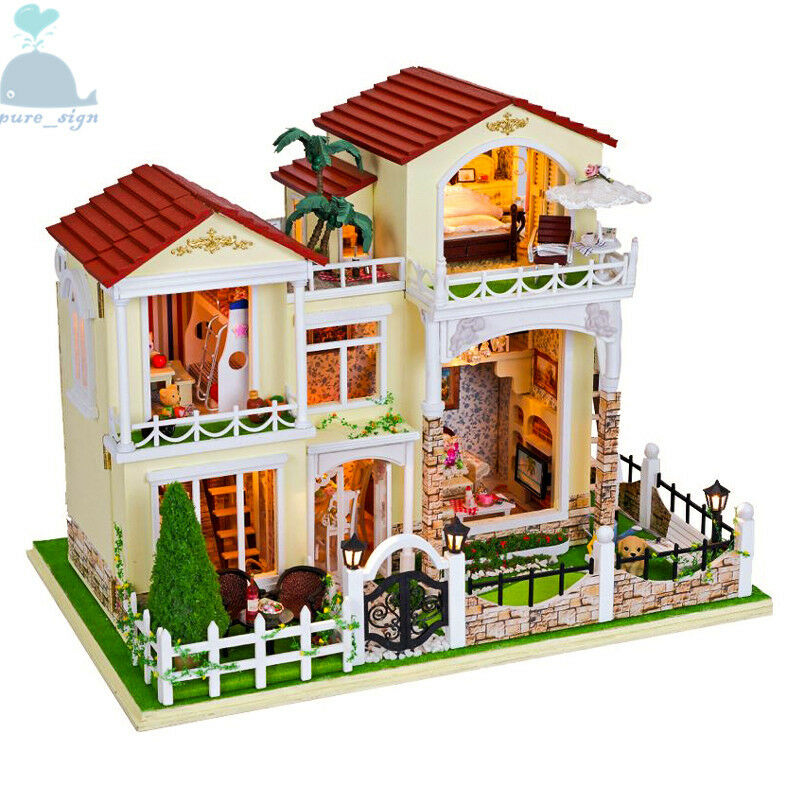 Bricolaje Artesanía Miniatura Proyectos mi Little Villa en Barcelona Madera