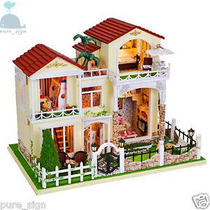 Do It Yourself Artisanat Miniature Projet My Little Villa En Barcelone Bois