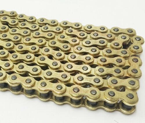 Heavy Duty 428-118 Motorcycle Drive Chain GOLD to fit  Zontes MANTIS 125 ZT125-E