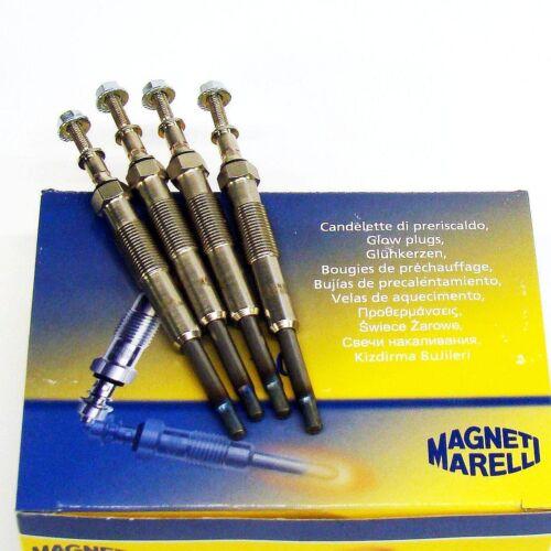 4 x Glühkerze Magneti Marelli HYUNDAI Santa Fe I 2.0 CRDi Santa Fe II 2.2 CRDi