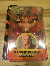Bill Goldberg - Atomic Elbow 1998 WCW Wrestling Figure NWO Wwe Wwf Rare Vintage