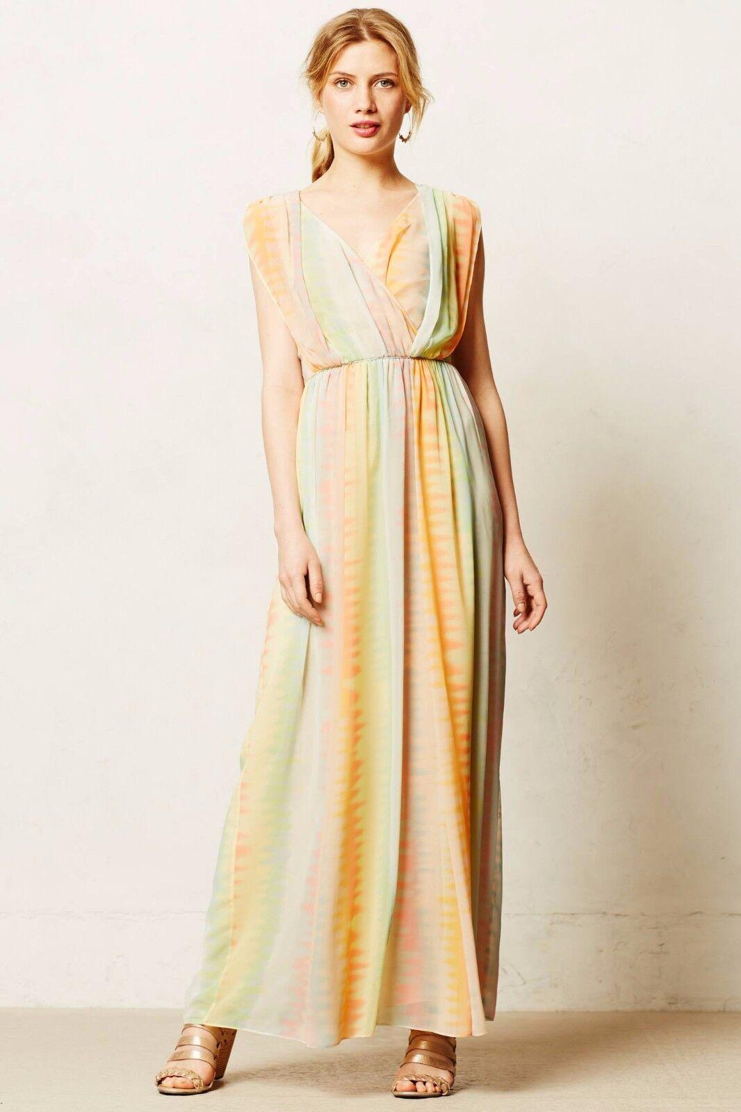 425b312b45 NEW Anthropologie Solen Dress by Lil, 2P, Tie Dye Surplice Maxi Petite Maxi  nttolc260-Dresses