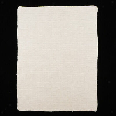 Cotton Monks Cloth with Wooden Frame Rug Hooking Punch Needle Crafts 10x12in
