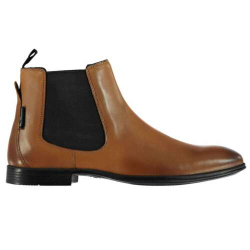 Ben Sherman Homme Lombard Bottines Chelsea Tonal coutures