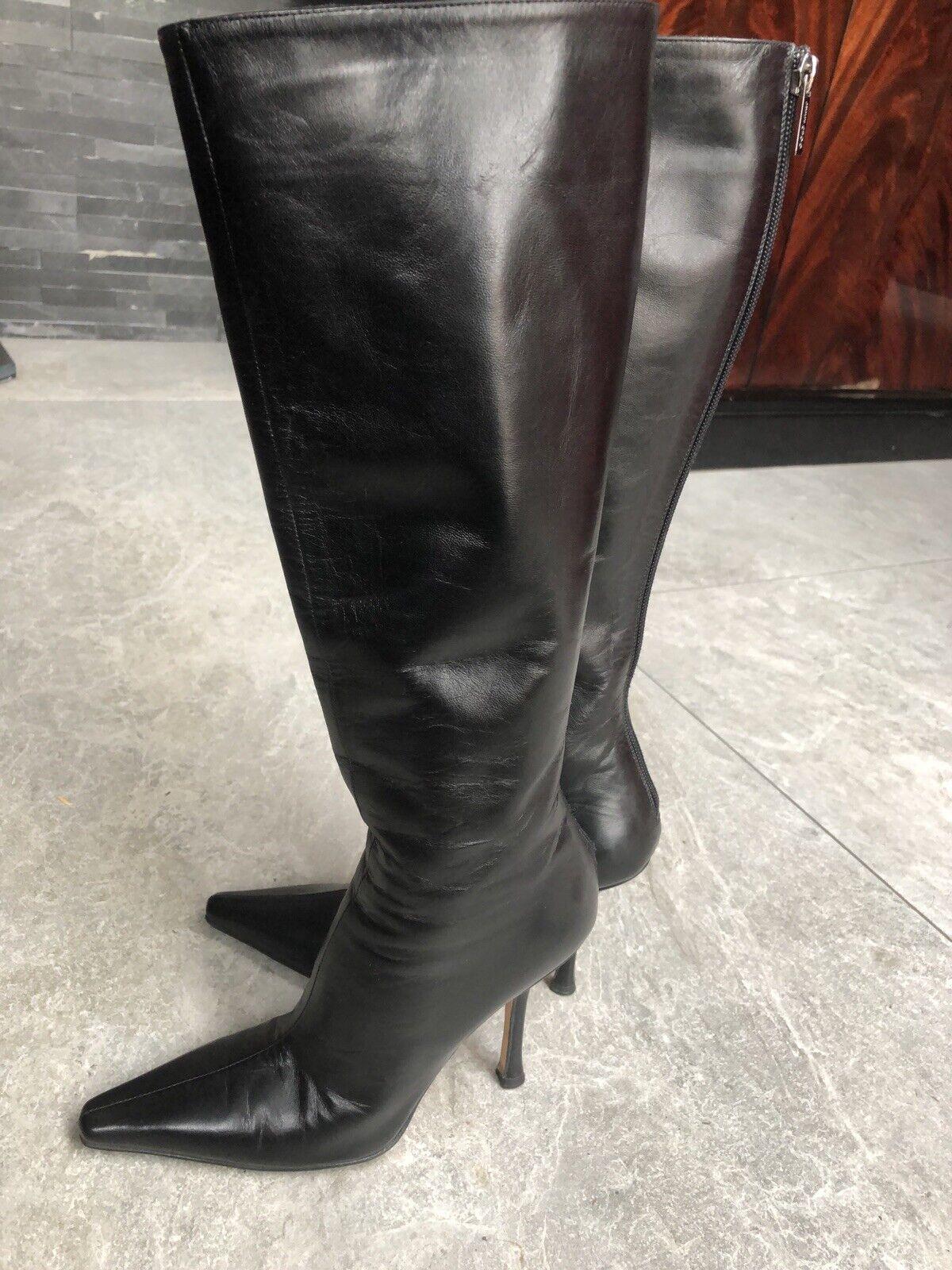 Jimmy choo boots Size 34.5 UK 2.5