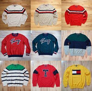 Nuovo-con-etichette-Uomo-Tommy-Hilfiger-Girocollo-Pullover-Sweater-Listing-2-XS-S-M-L-XL-XXL