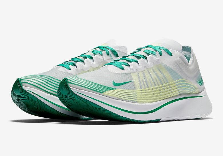 Nike NikeLab Zoom Fly SP HONG KONG Blanc LUCID Vert AJ9282-101 sz 13