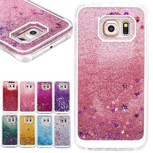 3879f61198bbb Luxury Glitter Star Liquid Back Phone Case Cover For Samsung Galaxy ...