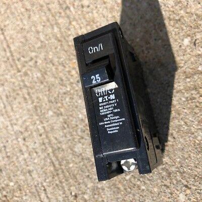 240//415 volt 25 amp Eaton HQP1025R3 Circuit Breaker 1 pole