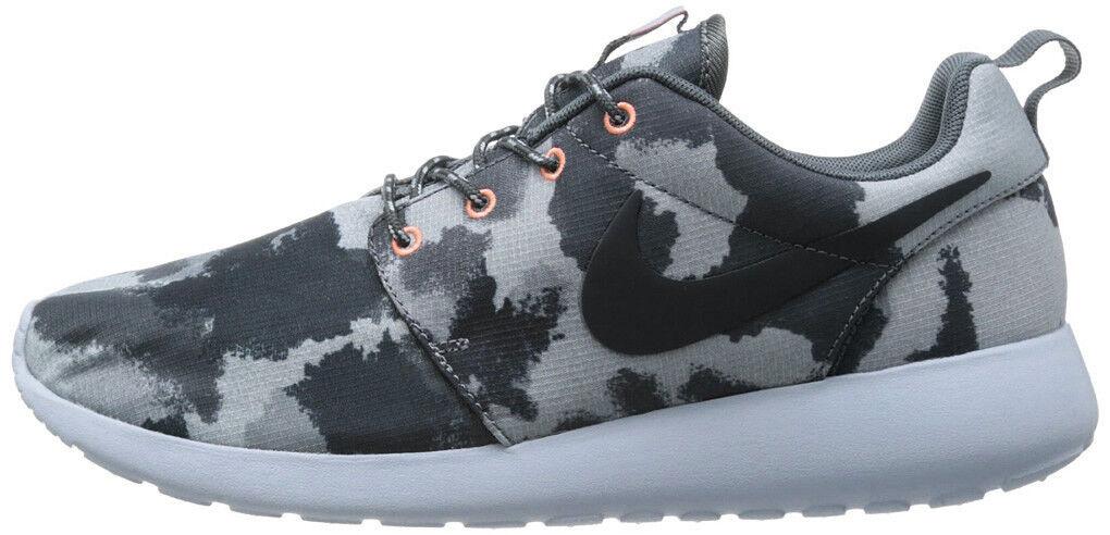 Nike Rosherun Print camo Armory Slate talla talla talla 39 us8 Thea 599432-400 flyknit juvenate 72e20c