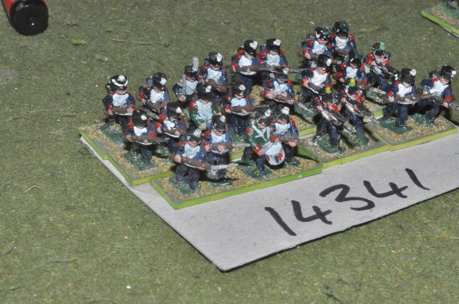 15mm napoleonic   french - infantry 24 figs - inf (14341)