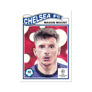 Mason Mount Chelsea 2021 UCL Topps Now Living Set Card #317