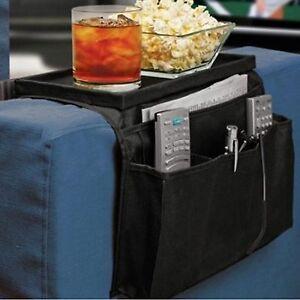 Remote Control Caddy Organizer 6 Pocket Holder Sofa Couch