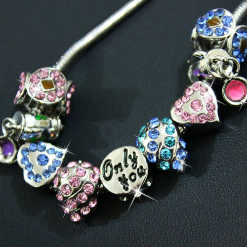Unique Bracelet Charms Girlfriend Wife Mum Sister Rare Xmas Present Gift For Her