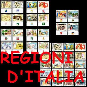 ITALIA-2004-2008-Regioni-d-039-Italia-con-Bandella-Stemma-Serie-singole-e-cmpl-20v